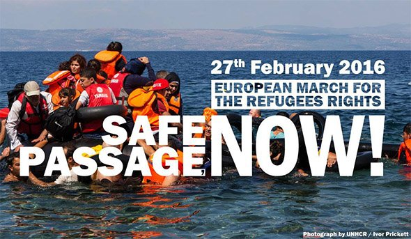 Safepassage now - Europa unita per i rifugiati