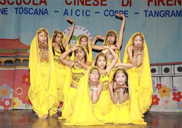 spettacolo di arte e cultura cinese a Firenze - COSPE