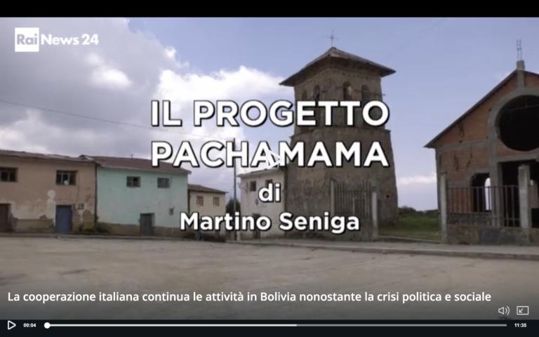 Reportage di Rainews sul progetto Pachamama